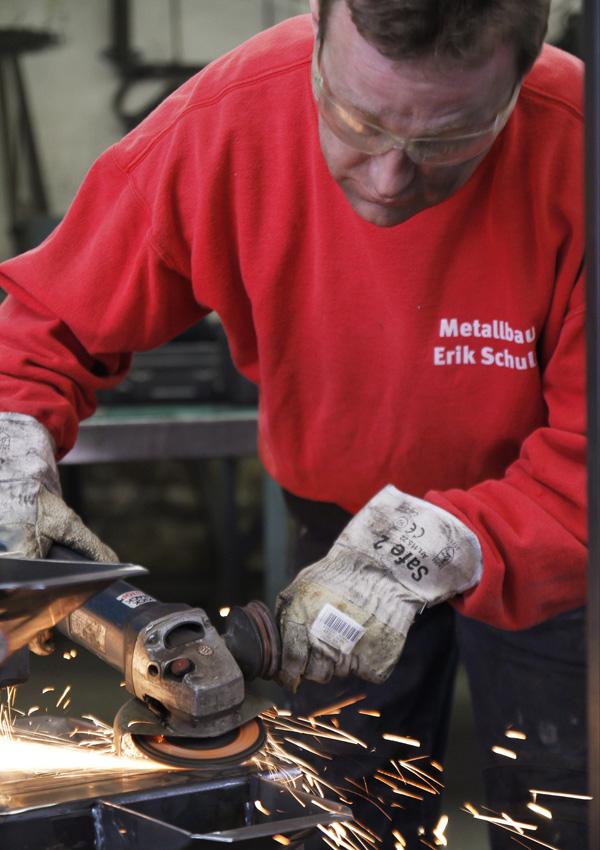 Metallbau Erik Schulz - Bei der Arbeit